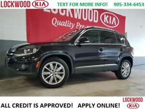2013 Volkswagen Tiguan HIGHLINE - LEATHER, NAVI, SUNROOF