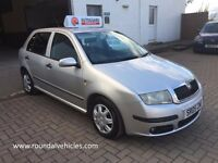 Skoda Fabia 1.2 Ambiente, 78000 12 months mot , 12 months warranty,2 keys very clean car !