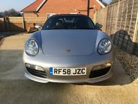 Porsche Boxster sporting edition 2.7 1 lady owner from new 12 months mot