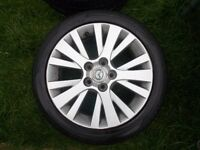 MAZDA 2 ALLOY WHEEL AND TYRE