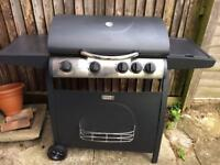 Brand new 4 burner gas barbecue