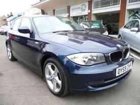BMW 1 SERIES 2.0 116D SPORT 5d 114 BHP (blue) 2009
