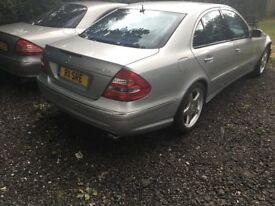 Mercedes Benz E CLASS AMG SPORT Petrol owner 1