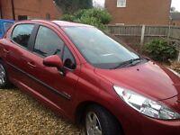 Peugeot 207 ,10 plate , excellent condition , a/c , 5 door,10 months mot,
