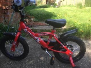 Childs Bike - Bumperr Blazer - Red - 3-5 years - Used Twice, like new!