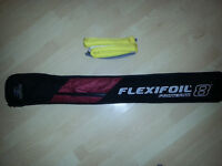 Brand new Flexifoil Proteam 8 Stacker in red colour, The origional power kite.