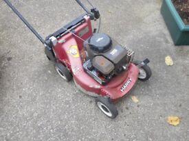 Harry petrol lawnmower