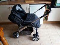£140 silvercross linear pushchair/car seat