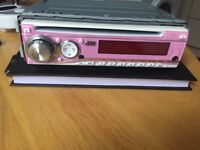Jvc in pink great sound