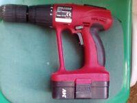Push 24V cordless drill only £15