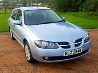 Bargain price 2006 nissan almera mint condition 2 owners (focus golf kia fiesta astra megane)