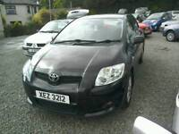08 Toyota Auris 1.6 T3 5 door Full 12 MTS Mot only 71000 mls ( can be viewed inside anytime)