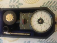 Tachometer - suitable for motors and lathe rotation speed measurements