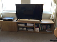 TV Stand IKEA - Oak effect- *Just like New* - Bought in Oct 2015