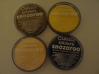 4 x Snazaroo Face and Body Paints - 18ml