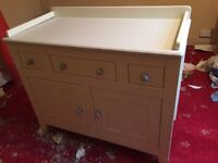 John Lewis changing unit. open to offers