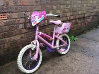 Princess bike and scooter