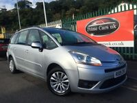 2009 09 Citreon Grand C4 Picasso 1.6 VTi 16v VTR+ 5 Door 7 Seater 5 Speed Manual Petrol