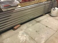 Aluminium Boxed Roofing Sheets Silver Brand New for sale