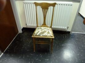 Small chair for a shabby chic creation perhaps ?