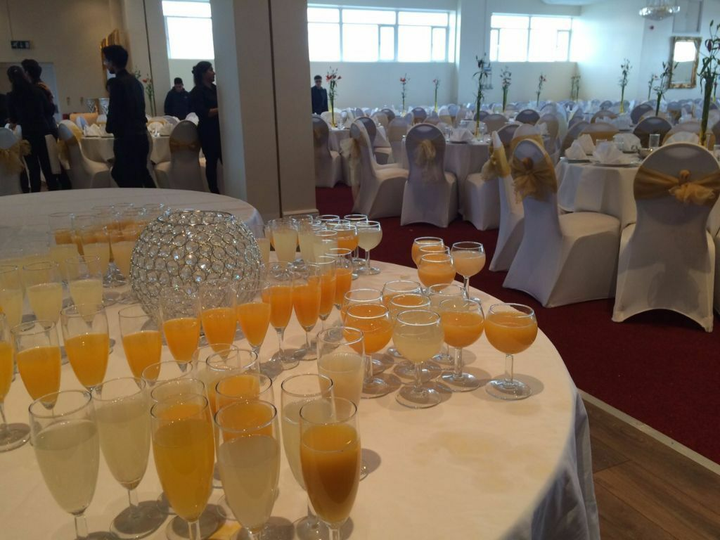 Event Decor London New Venue Refurbished Hall Hire Catering And Decor Wedding