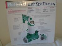A BaByliss, Bath Spa Therapy.