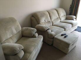 Sofa plus stool