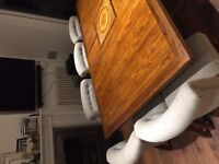 dining table - seats 8 to 10 £100 ono Low level Rosewood, good condition, attractive hard wood