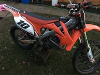 Crf 450 2012 may swap px ktm raptor banshee kxf enduro road legal