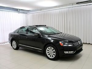 2014 Volkswagen Passat TDI Highline! VW Certified! Heated Leathe
