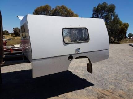 Ute canopy -single cab. Bull motor body all aluminium
