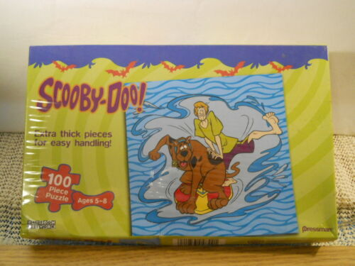 2004 Pressman Cartoon Network Scooby-Doo 100 Piece Factory Sealed Jigsaw Puzzle