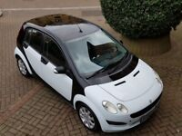 SMART FORFOUR PASSION 1.5 DIESEL MANUAL,VERY RARE PANDA WHITE, PAN-ROOF, CD, ALLOYS, 1 OWNER, 2 KEYS