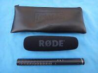 Rode NTG1 Condenser Shotgun Microphone for film/video Excellent condition