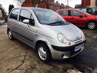 DAEWOO MATIZ 796cc 2003 5 DOOR LONG MOT £495