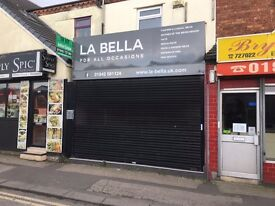spacious shop in popular location with shop frontage and 1st floor level as well. Must view