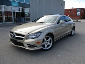 2012 Mercedes-Benz CLS-Class CLS550 4MATIC LOW KM ONE OWNER