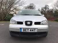 Seat Arosa 2004 only 22K RARE LOW MILEAGE backed with FSH all MOT CERTS PRIVATE PLATE BET44t Betty