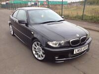 (55) BMW 320ci coupe m-sport 2.2 , mot - March 2017 , service history , 3 owners,audi,mercedes,golf