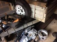 Full galvanized steel trailer