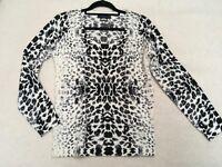 Cashmere cardigan size 8-10