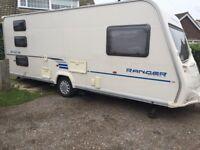 Bailey Ranger caravan / Tourer 2010 6 berth