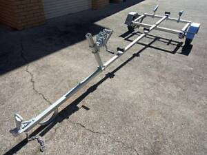 Boat trailer suit 8ft to 13ft boat.