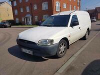 Ford Escort White Van 2001 1.8 Diesel FULL MOT