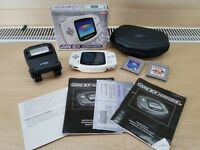Rare Gameboy Advance Boxed with Light and Games