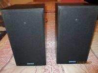 Tannoy E11 hi-fi bookshelf speakers