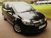 2007 Vauxhall Zafira. 1.8 Petrol. 5 Speed Manual. Full Service History