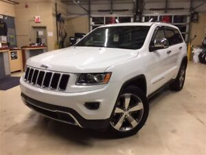 2014 Jeep Grand Cherokee LIMITED*HITCH*CUIR*TOIT*NAV