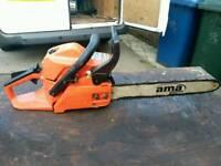 Ama garden petrol chainsaw