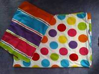 """New Single """"Spots & Stripes"""" Quilt cover"""